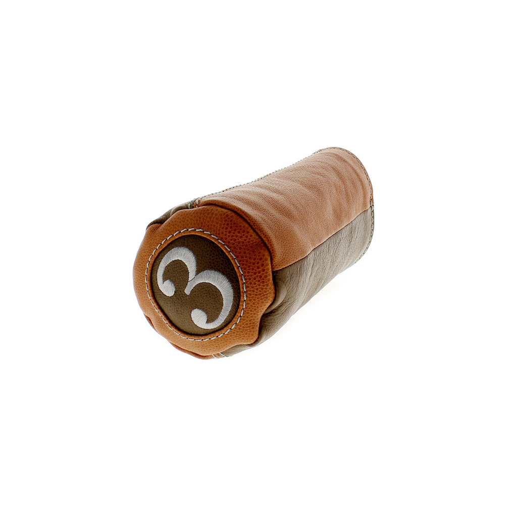 Couvre-bois pour bois 3 everglade tabac