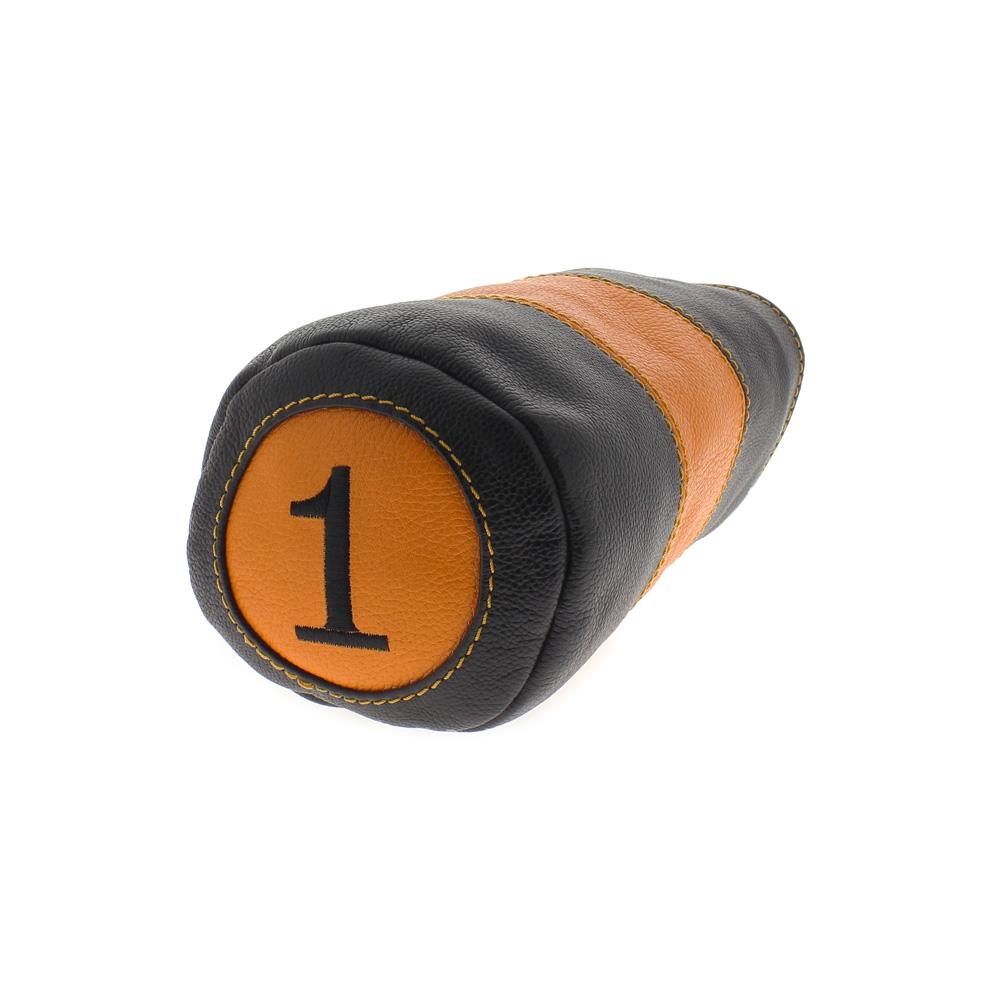Couvre-bois pour driver noir / orange