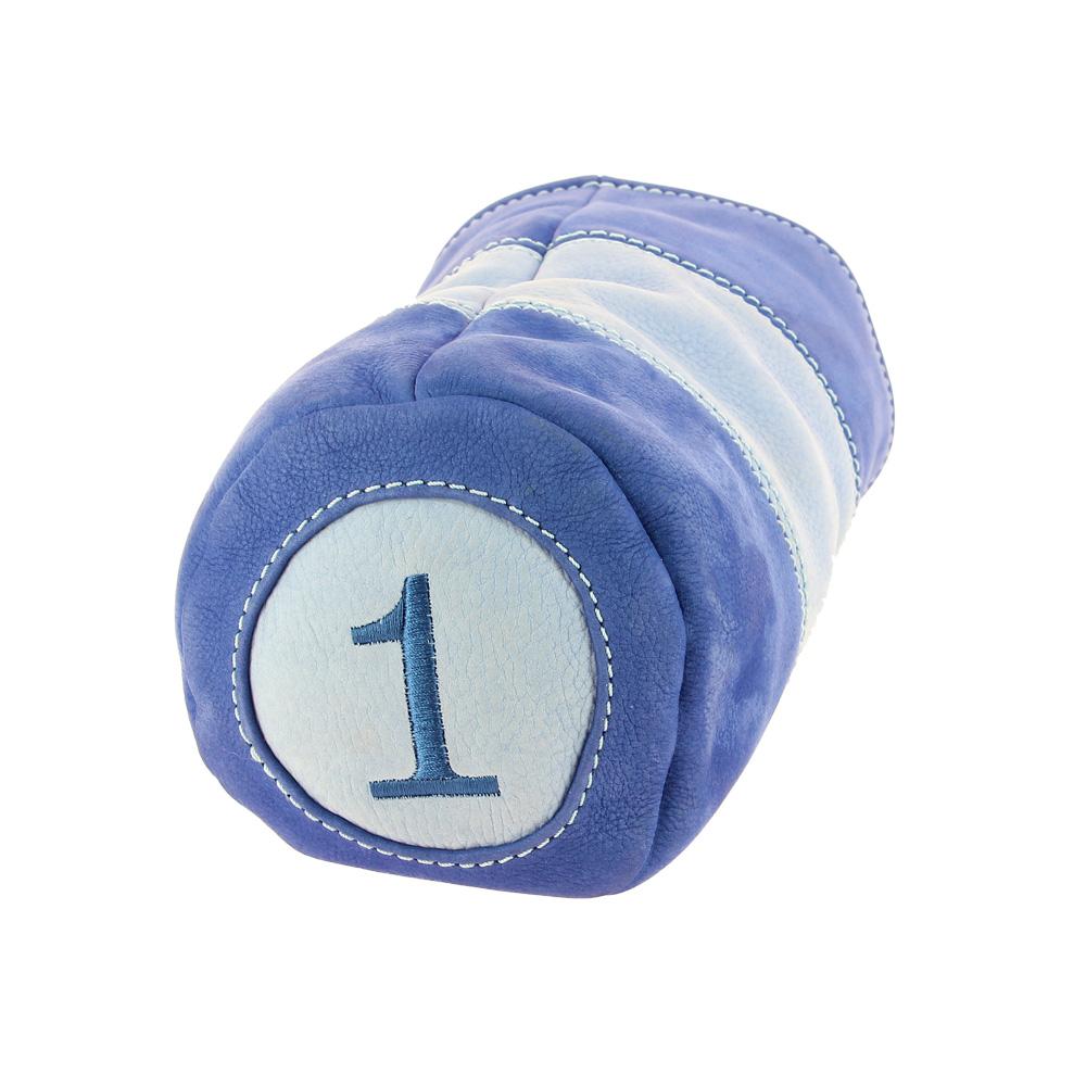 Taurillon nubucké bleu azur ciel